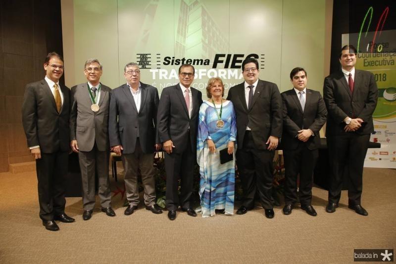 Marcelo Pinheiro, Cid Alves, Maia Junior, Beto Studart, Ana Lucia, Yuri Torquato, Thiago Pinho e Fernando Laureano 2
