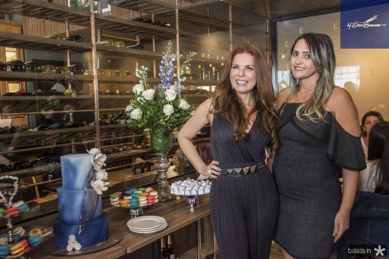 Claudia Quental e Mahely Fernandes