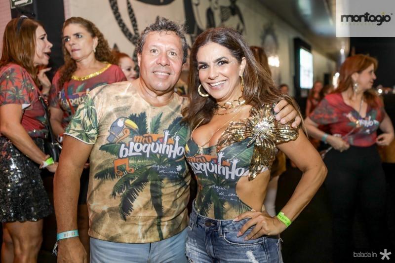 Paulo Ronquayrol e Cristina Pinto
