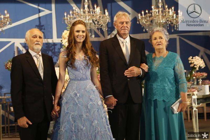 Amancio Lima, Clara, Jose e Clarisse Dal Belo