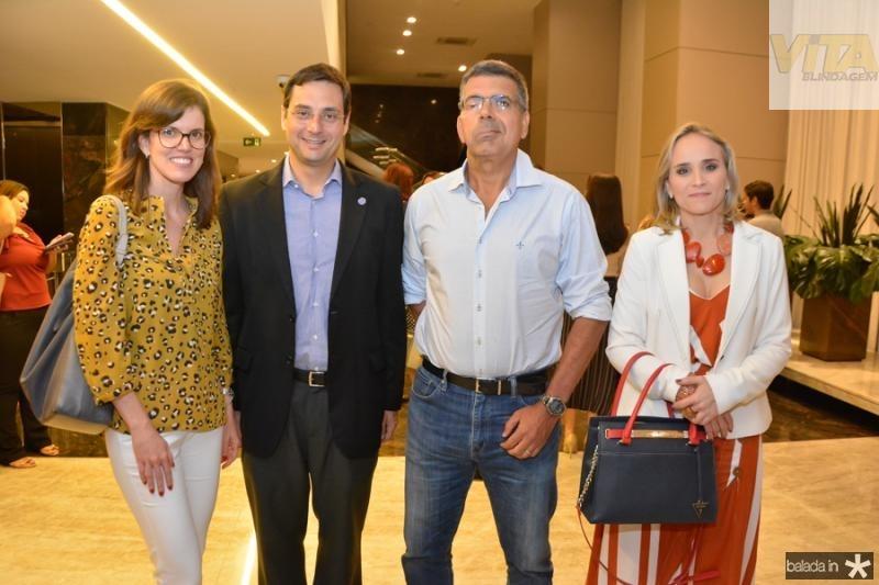 Duna Uribe, Luiz Miranda, Lauro Chaves e Fernanda Pacobahyba