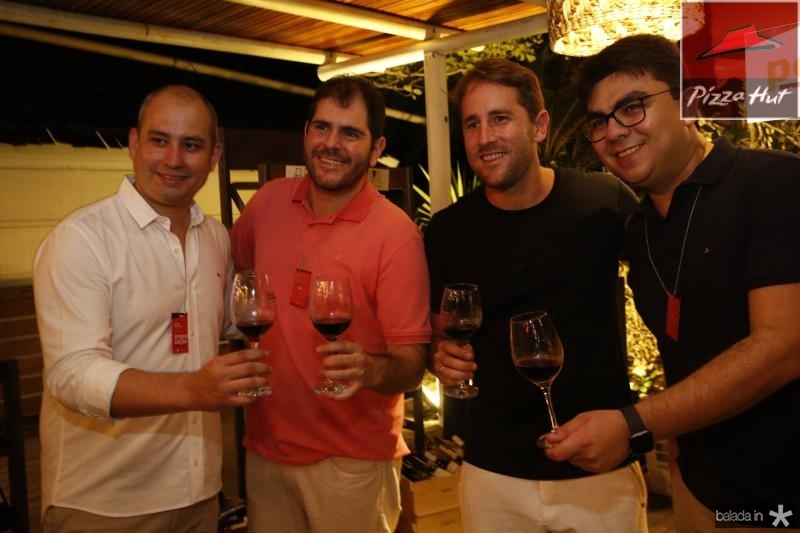 Andre Linheiro, Eduardo Castelao, Rodrigo Frota e Rolf Campos 3
