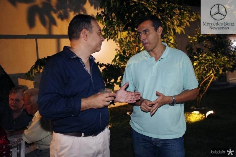 Madson Cardoso e Rodrigo Santos