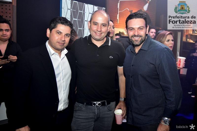 Pompeu Vasconcelos, Andre Linheiro, Clovis Holanda