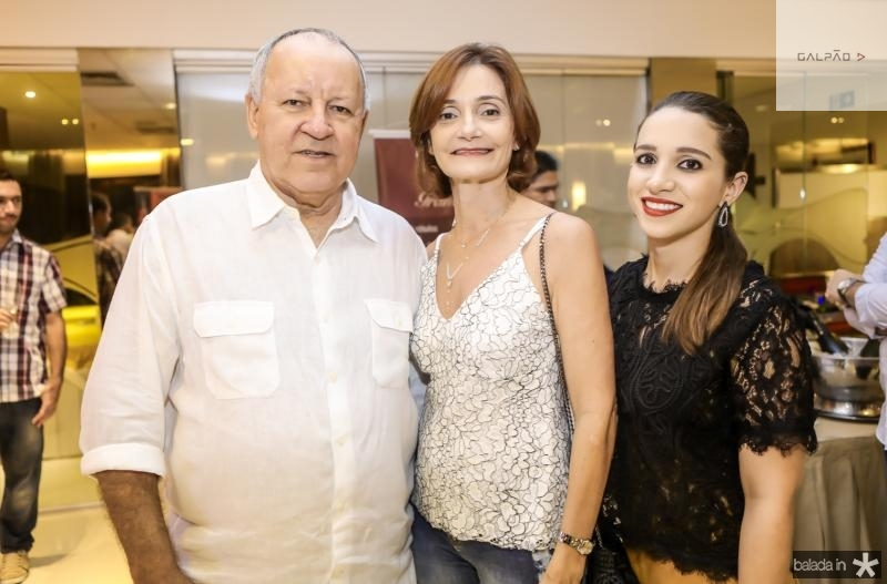 Crica Bezerra de Menezes, Louise Benevides e Andrea Nery