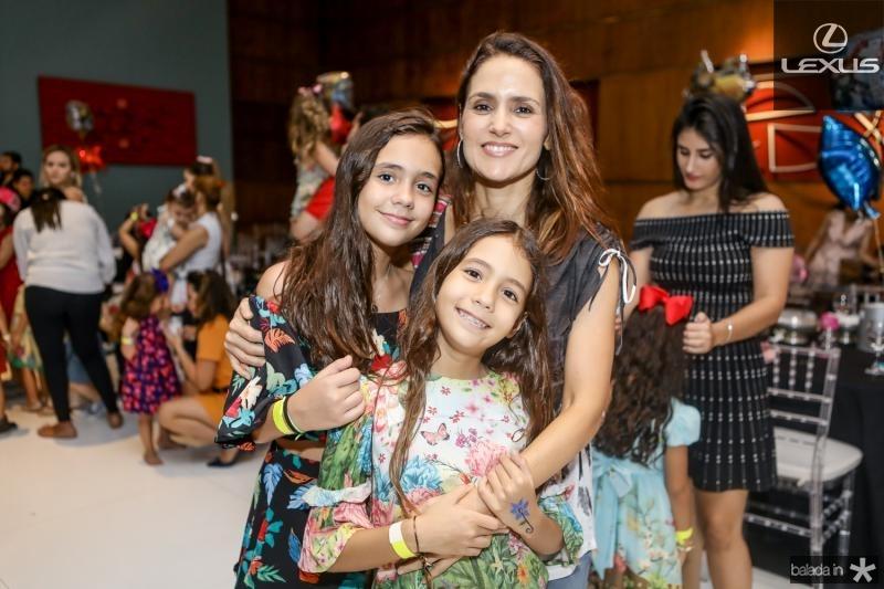 Maria, Sarah e Manoela Bacelar