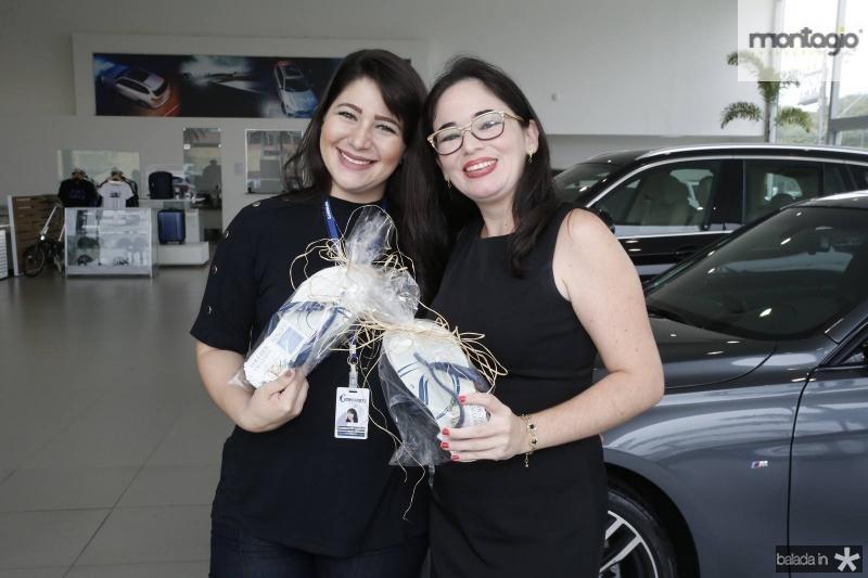 Camila Portela e Aline Ferreira