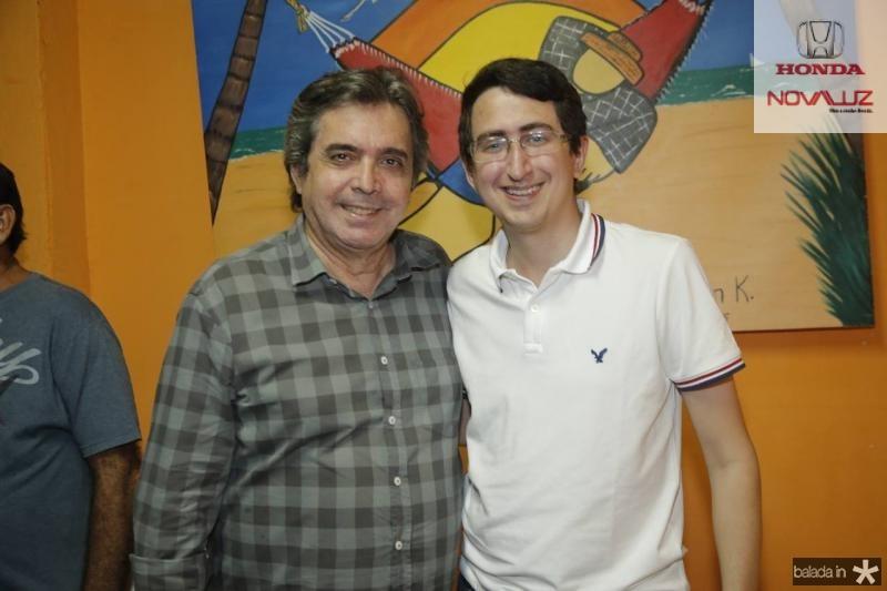 Totonho Laprovitera e Roberto Victor