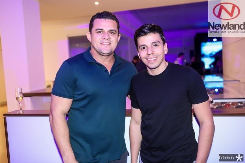 Izaias Duarte e Edimar Feitosa