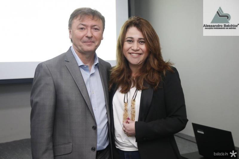 Mauricio Filizola e Raquel Barros