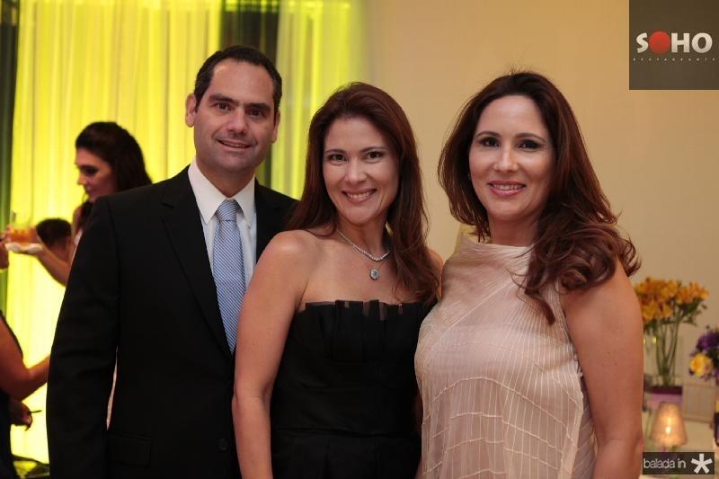 Tarso Melo,Ana Cristina Melo e Alessandra Soares