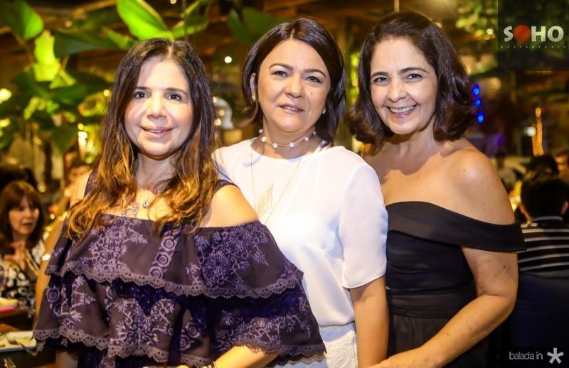 Maria Lucia Negrao, Guiomar Feitosa e Giana Studart