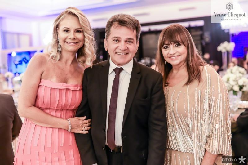 Milena Lima, Watson Viana e Carmen Cinira