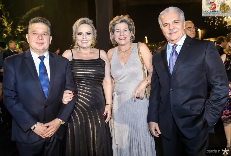 Gerardo e Daniela Bastos, Estela e Pio Rodrigues