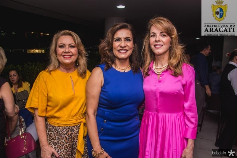 Ines Cals, Marcia Teixeira e Karisia Pontes