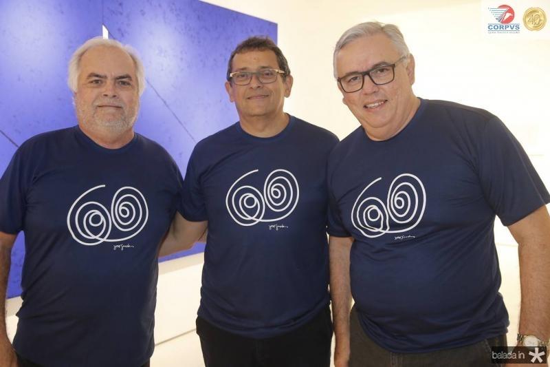 Rui Dias, Jose Guedes e Fernando Siqueira