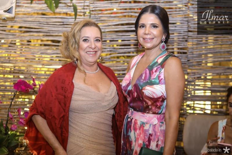 Bricia Teixeira e Maria Lucia Negrao