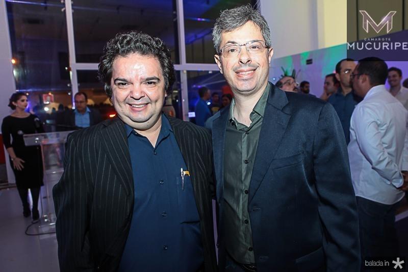 J Pompilio e Andre Marinho