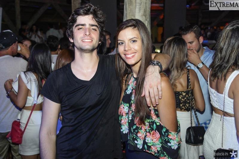 Andre Carneiro e Mariana Duarte