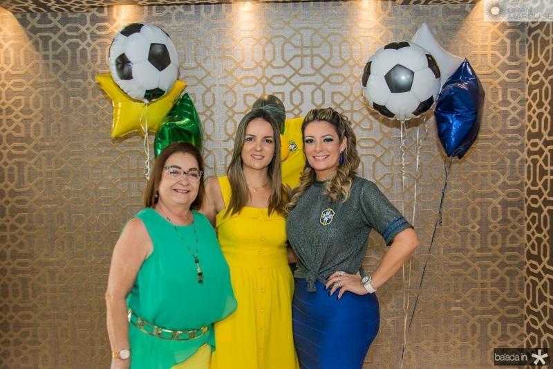 Mana Luna, Raquel Vasconcelos e Tatiana Luna