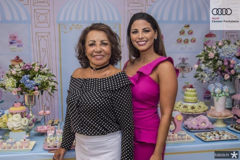 Eneuda Duarte e Ana Luiza Sa