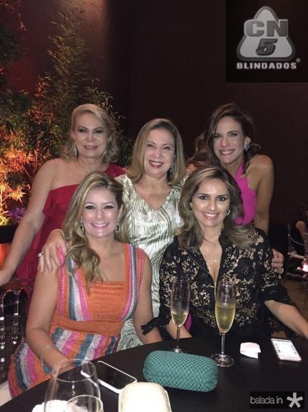 Tatiana Luna, Iracema Vale, Lucia Carioca, Mirna Paz e Ana Virginia Martins