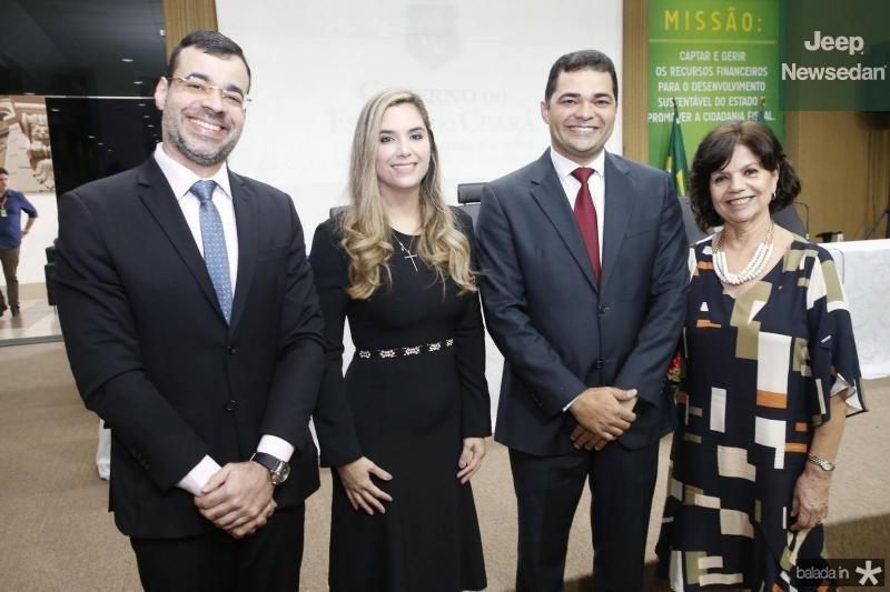 Bona Carneiro, Juliana Albuquerque, Jacob Stivenson e Candida Torres de Melo