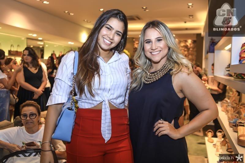Suzana Geleilate e Roberta Fernandes