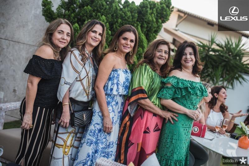 Luisa Reis, Adriana Bezerra, Liliana Linhares, Clezia Araujo e Luciana Lobo