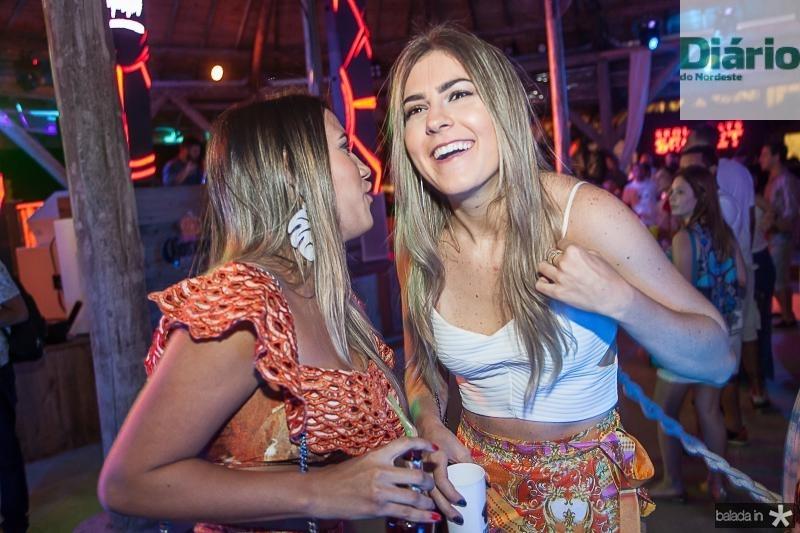 Ingrid Rosas e Stefani Teodoro