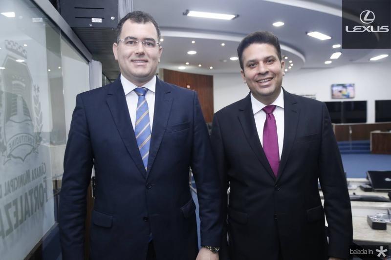 David Peixoto e Everardo Lucena