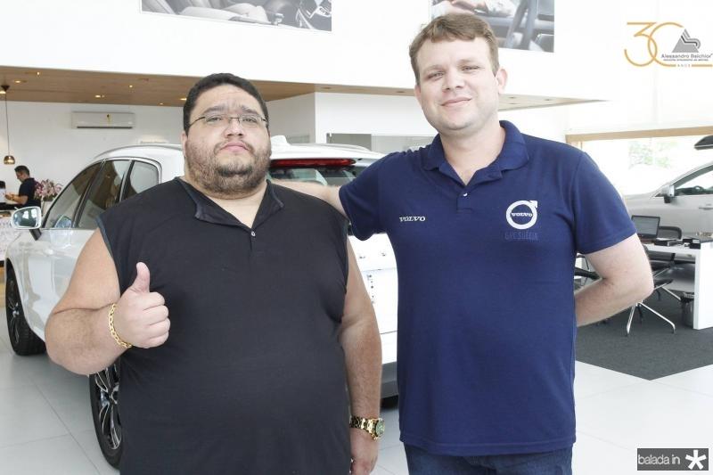 Wilas Pereira e Ernan Alves