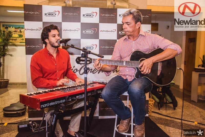 Levi Castelo Branco e Edmar Goncalves