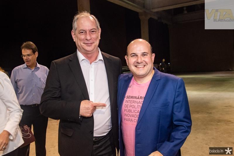 Ciro Gomes e Roberto Claudio