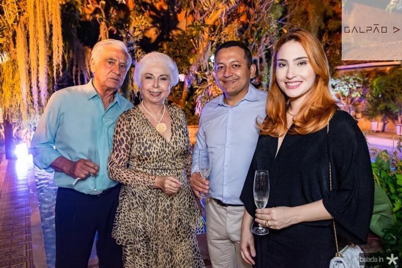 Paulo Guimaraes, Alodia Guimaraes, Carlos e Thais Hermano