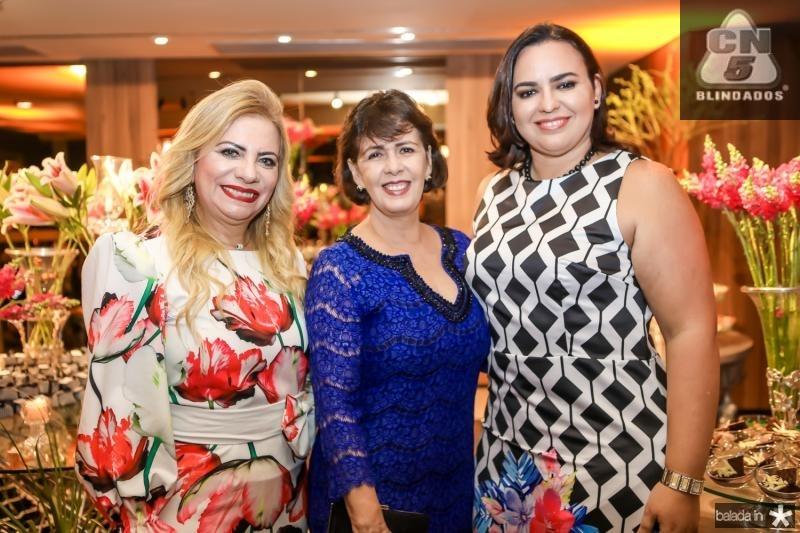 Solange Maia, Neuma Figueiredo e Patricia Bessa