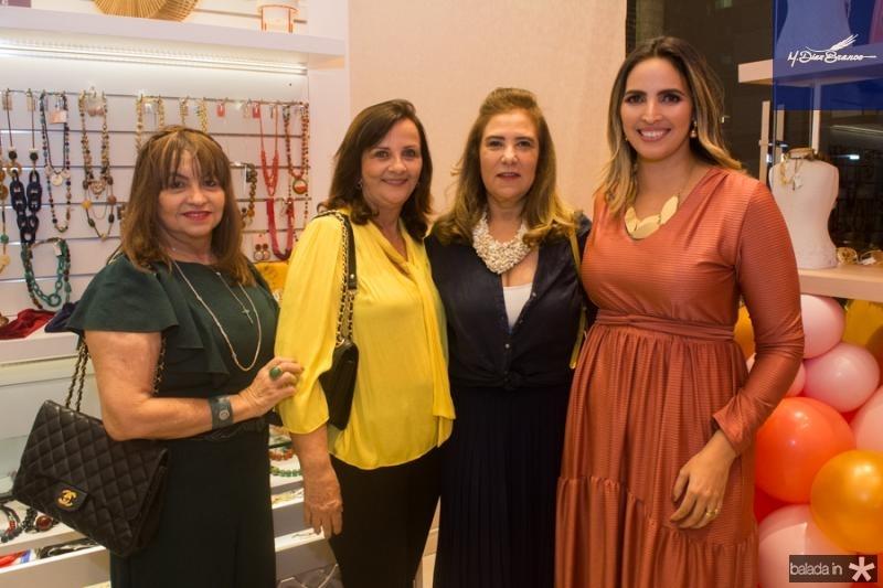 Carmem Cinira, Patricia Siqueira, Joria Araripe e Mariana Queiroz