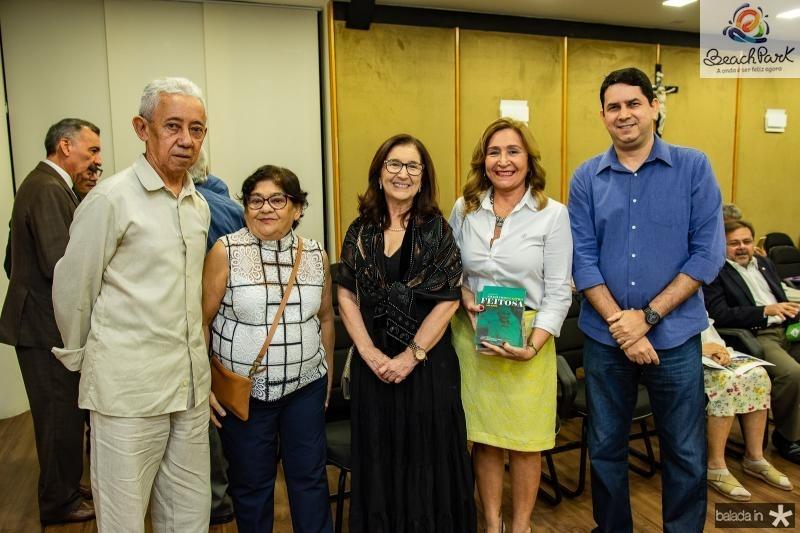 Jorge de Moura, Leina Carbogin, Maria Dias, Fatima Feitosa e Andre Pereira