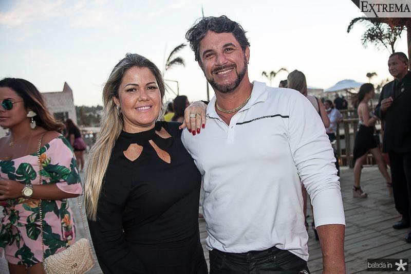 Sandra Matarenzo e Caio Guimarães