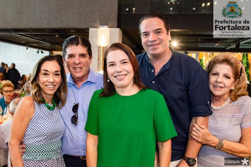 Marcia Tavora, Dito Machado, Denise Bezerra, Thiago Holanda e Lilian Fracalansa