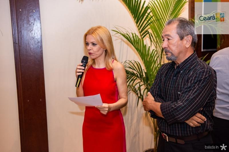 Ana Cristina Pedroso e Coronel Romero