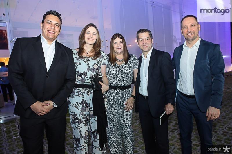 Andre Pina, Mirela Cambrea, Monet Felipe, Rodrigo Tramontina e Jorge Mussi