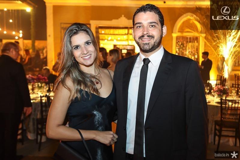 Camila Rodrigues e Raul Viana