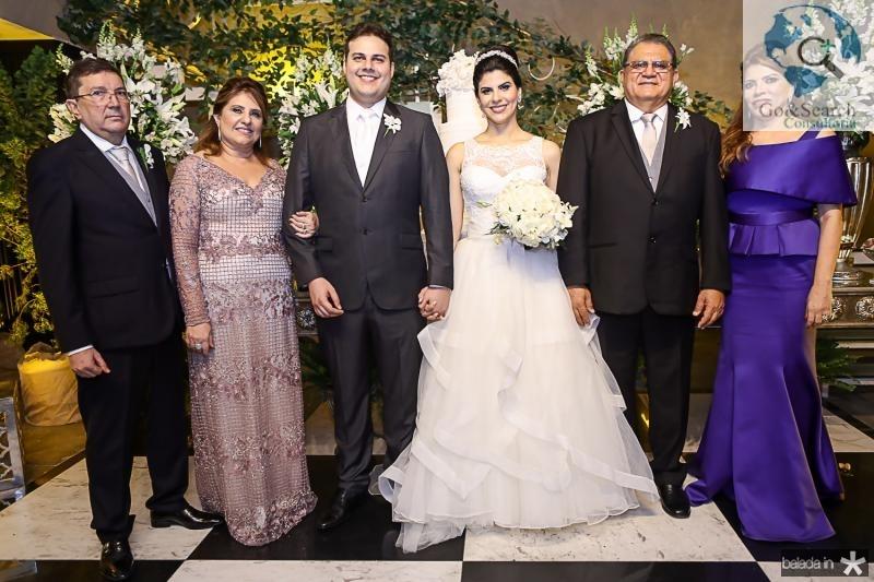 Edmilson e Dulce Aguiar, Daniel Lucena e Milena Leite, Mauricelio e Philomena Araujo