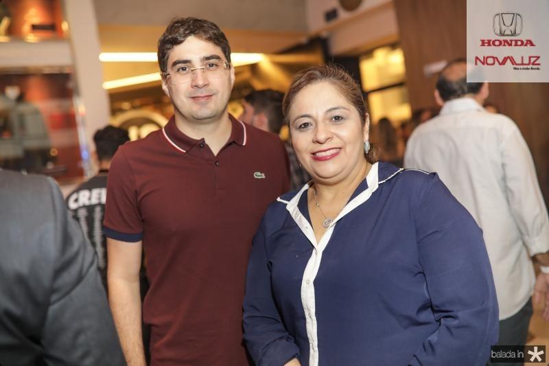 Leonardo Feitosa e Francisca Castelo Branco