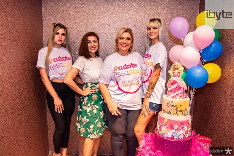 Carol Chimitt, Patricia Porto, Priscila Cavalcante e Sarah Chimitt