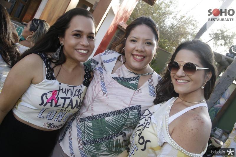 Beatriz Amaral, Ana Luiza Gondim e Gislaine Moura