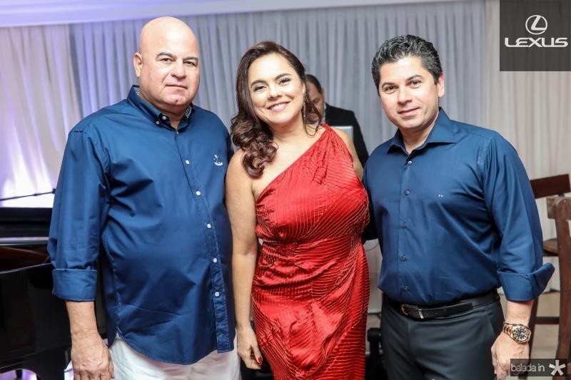 Luciano e Denise Cavalcante, Pompeu Vasconcelos