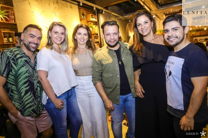 Padua Lopes, Alexia Fontes, Surama Geleitate, Roberto Alves e Bruno Mesquita
