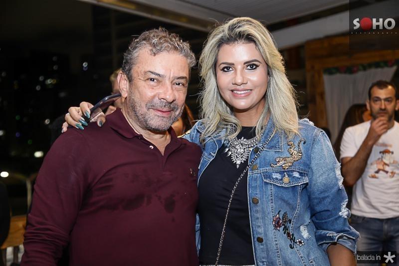 Claudio Silveira e Anelise Barreira